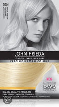 John Frieda Precision Foam Colour 10N Extra Light Natural Blonde - Haarverf