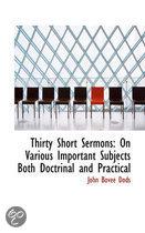 Thirty Short Sermons