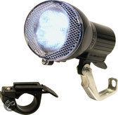 Dyto Fietskoplamp - 4 LED - 2 Beugels - Zwart