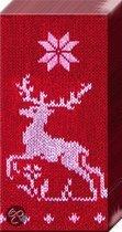 IHR Knitted Reindeers Zakdoekjes Kerst