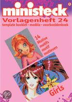 Ministeck Voorbeeldboek Girls