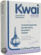 Kwai knoflookdragees one-a-day - 300 mg - 30 stuks - Voedingssupplement