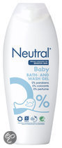 Neutral 0% Parfumvrij - 250 ml - Baby Wasgel