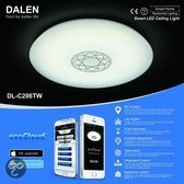 DALEN Tech DL-C206TW - Plafonniere - LED