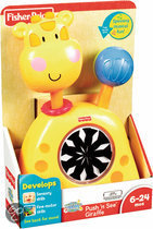 Fisher-Price Push 'n See Giraffe