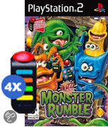 Buzz Junior Monster Rumble + 4 Buzzers