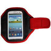 Sportband Samsung Galaxy S3 / HTC One One X - rood