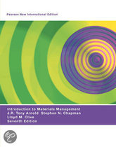 Introduction to Materials Management: Pearson  International Edition