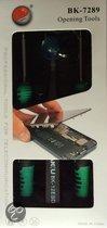 Baku BK-7289 iPhone 4(s) & 5(s) reparatie set met schroevendraaiers, zuignap & Pincet voor batterij en andere reparaties