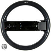 Logic3 Stuurwiel Sportuitvoering Zwart Wii