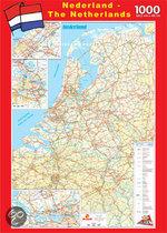 Puzzel Roadmap Nederland 1000 stukjes