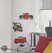Disney RoomMates Muursticker 3d Foam Cars - Rood
