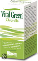 Bloem Vital Green Chlorella - 600 Tabletten - Voedingssupplement