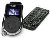 Caliber PMT302 - Draadloze FM Transmitter met USB, SD en 3,5mm aux-in aansluiting - Zwart