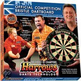 Harrows Official Competitie Bristle - Dartbord