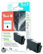Peach H364XL - Inktcartridge HP 364XL - Zwart