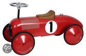 Metalen Loopauto Racer - Rood