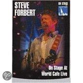 Steve Forbert - On Stage At World Cafe..