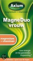 Axium Magneduo Vrouw - 120 Tabletten - Mineralen