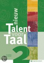 Nieuw talent voor taal 2 - leerboek