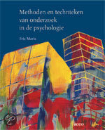 Methoden en technieken van onderzoek in de psychologie
