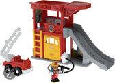 Fisher-Price Little People Brandweerstation