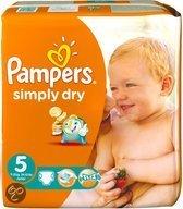 Pampers Baby luier Simply Dry Maat 5 - 300 stuks