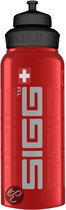 Sigg width mouth bottle nature red 1,0L