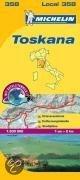 Michelin Lokalkarte Toskana 1 : 200 000