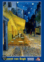 Puzzel Vincent van Gogh Cafeetje 1000 stukjes