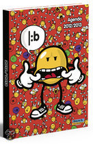 Smiley schoolagenda 2012-2013
