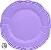 Baci Milano Candies Dessertbordjes - Melamine - Lavendel - Set van 6 stuks