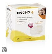 Medela - Disposable zoogcompressen, doos 30 stuks