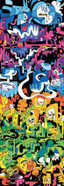 Heye Puzzel Jon Burgerman - Doodle World