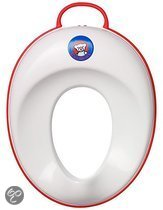BabyBjörn Toilet Trainer - Wit/Rood