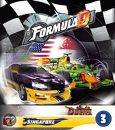 Formula D - uitbr. 3 - Singapour - Street Racing - Gezelschapsspel