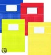 Benza - Basic Schriften Ruit 10mm A4 Trendy Assorti (5 stuks)