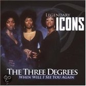 The Three Degrees ‎– When Will I See You Again (Legendary Icons)