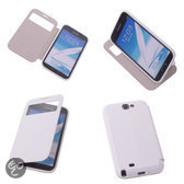 View Cover Wit Samsung Galaxy Note 2 Stand Case TPU Book-style
