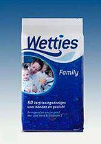 Wetties Verfrissingsdoekjes Family Pack