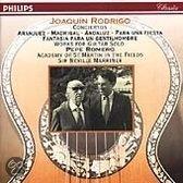 Rodrigo: Conciertos, Works fo solo guitar / Romero