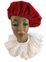 Zwarte Piet Kraag wit de luxe