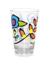 Zak!Designs Wildflora Drinkbeker - 33 cl - Assorti - Set van 6 stuks