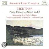 Romantic Piano Concertos - Medtner: Piano Concertos no 1 & 3