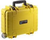 B&W International Type 4000 geel incl. schuimstof