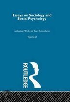 Essays on Sociology and Social Psychology