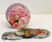 Romantic Country Flowers Coasters