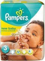 Pampers Baby luier New Baby Maat 3 - 66 luiers in het pak