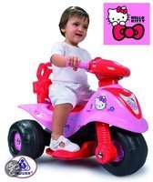 Injusa Tribike Storm Hello Kitty accuvoertuig