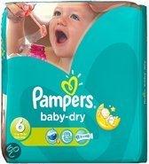 Pampers Baby luier Baby Dry Maat 6 - 162 stuks
